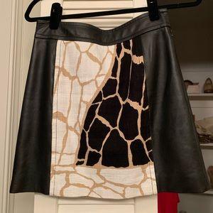 Rachel Zoe Leather mini skirt